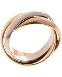 Cartier - Trinity Multicolour Other Ring - Lyst