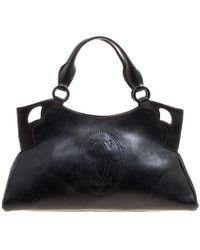 Cartier - Leather Marcello De Satchel - Lyst