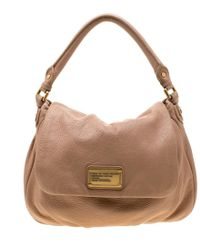 49c81579a6 Marc By Marc Jacobs - Beige Leather Lil Ukita Crossbody Bag - Lyst