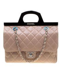 392284f2d5 Chloé Faye Mini Bag Suede Calf Skin Ideal Blush in Pink - Lyst