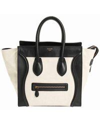 Céline - Luggage Leather Handbag - Lyst