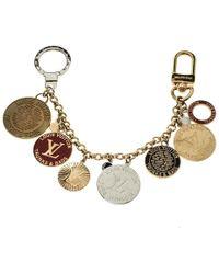 Louis Vuitton - Trunks And Bags Enamel Gold Tone Bag Charm - Lyst