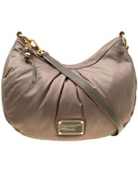 9051970783 Marc By Marc Jacobs - Khaki Green Fabric And Leather Shoulder Bag - Lyst
