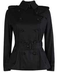 Burberry - Sandringham Double Breasted Belted Coat S - Lyst