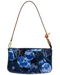 Louis Vuitton - Grand Bleu Monogram Vernis Ikat Accessories Pochette Nm Bag - Lyst
