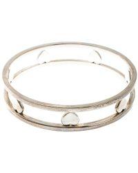 Tiffany & Co. - Open Heart Wide Bangle Bracelet - Lyst