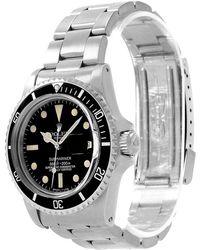 Rolex - Stainless Steel Submariner Vintage Men's Wristwatch 40mm - Lyst