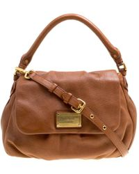 Marc By Marc Jacobs - Brown Leather Classic Q Lil Ukita Top Handle Bag - Lyst