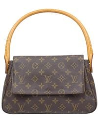 Louis Vuitton - Monogram Canvas Looping Pm Bag - Lyst