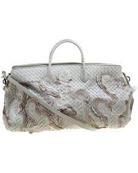 Bottega Veneta - Intrecciato Leather Limited Edition 055/100 Tote - Lyst