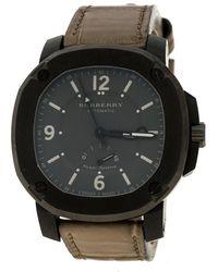 Burberry - Grey The Britain Bby1000 Men's Wristwatch 45 Mm - Lyst