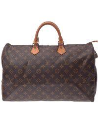 Louis Vuitton - Monogram Canvas Speedy 40 Bag - Lyst