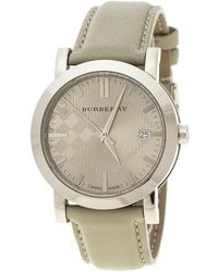 Burberry - Stainless Steel Heritage Bu1754 Men's Wristwatch 38 Mm - Lyst
