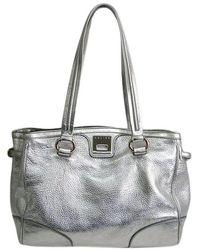 Céline - Calfskin Leather Tote - Lyst