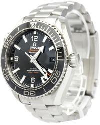 Omega - Stainless Steel Seamaster Planet Ocean Men's Wristwatch 44mm - Lyst