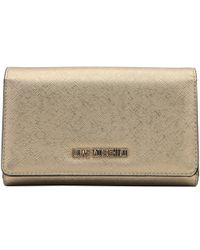 Moschino - Love Leather Continental Wallet - Lyst