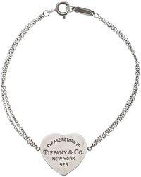 Tiffany & Co. - Return To Tiffany Heart Tag Chain Bracelet - Lyst