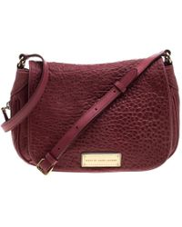180312af9244 Marc By Marc Jacobs - Leather Washed Up The Nash Crossbody Bag - Lyst
