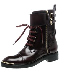 Louis Vuitton - Leather Like A Man Ranger Boots - Lyst
