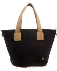 397c01468cc3 Burberry - Blue Label Canvas Tote - Lyst