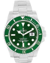 Rolex - Ceramic And Stainless Steel Submariner Men's Wristwatch 40mm - Lyst