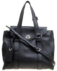 Marc By Marc Jacobs - Leather Turnlock Bowler Bag - Lyst