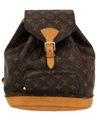 Louis Vuitton - Monogram Canvas Montsouris Mm Backpack - Lyst