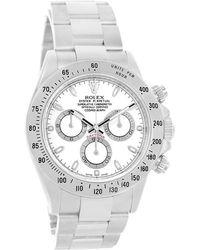 Rolex - Stainless Steel Daytona Chronograph Men's Wristwatch 40mm - Lyst