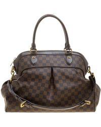Louis Vuitton - Damier Ebene Canvas Trevi Gm Bag - Lyst