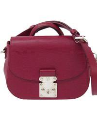 Louis Vuitton - Fuschia Epi Leather Eden Pm Bag - Lyst