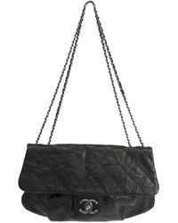 4cbcd98e9b73 Lyst - Chanel Quilted Lambskin Medium Vintage Classic Double Flap ...
