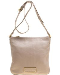 Marc By Marc Jacobs - Grey Leather Crossbody Bag - Lyst