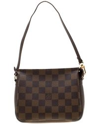 c2ef876cdfe7b Louis Vuitton American Cube Shoulder Bag Damier Jean White in White - Lyst