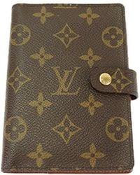 Louis Vuitton - Monogram Canvas Small Ring Agenda Cover - Lyst