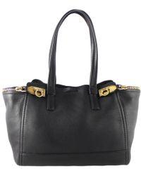 583403d9e669 Ferragamo - Leather Medium Verve Tote - Lyst