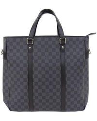 9878e0bd6b16 Lyst - Louis Vuitton Damier Graphite Canvas Jorn in Black for Men