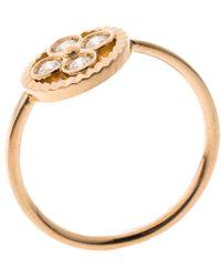 Louis Vuitton - Blossom Bb Diamond 18k Rose Gold Ring - Lyst