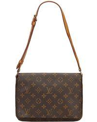 Louis Vuitton - Monogram Canvas Musette Tango Bag - Lyst