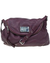 Marc By Marc Jacobs - Burgundy Leather Classic Q Natasha Crossbody Bag - Lyst