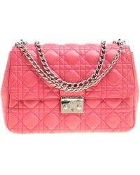 Dior - Cannage Quilted Leather Miss Shoulder Bag - Lyst