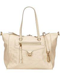 Louis Vuitton - Monogram Empreinte Leather Lumineuse Pm Bag - Lyst