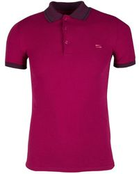 03975d89 Burberry - London Contrast Trim Polo T-shirt Xs - Lyst