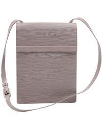 7b5c18394e Louis Vuitton - Lilac Epi Leather Ramatuelle Bag - Lyst