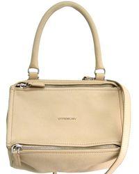 20154ff9f62c Givenchy - Light Goatskin Leather Small Pandora Bag - Lyst