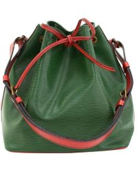 Louis Vuitton - Bi Color Epi Leather Petit Noe Bag - Lyst