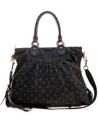 ec515fb6a578 Lyst - Louis Vuitton Monogram Denim Shoulder Bag M95352 Neo Cabie Gm ...