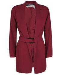 Ferragamo - Vintage Belted Coat M - Lyst