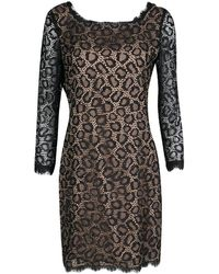 Diane von Furstenberg - Lace Zarita Embellished Dress M - Lyst