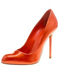 c80f9bf418f Lyst - Christian Louboutin Palais Royal Flamenco Patent Leather ...