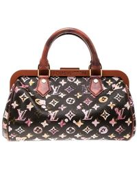cca362b319c2 Louis Vuitton - Limited Edition Richard Prince Monogram Watercolor Aquarelle  Papillon Frame Bag - Lyst